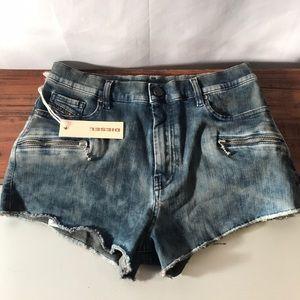 New Diesel Denim Shorts